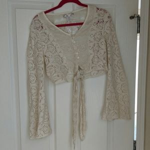 Band of Gypsies Lace crop top
